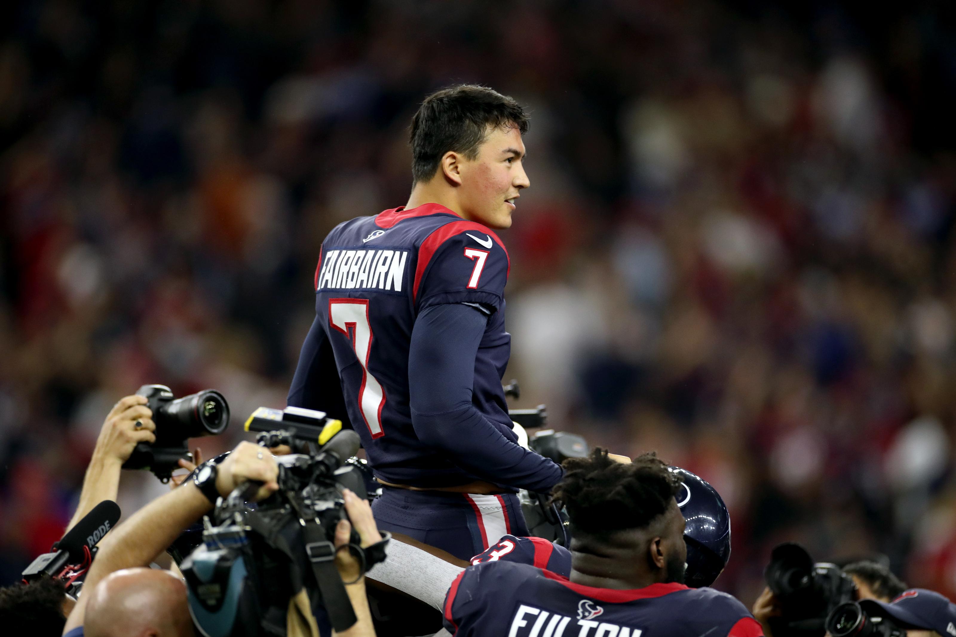 Houston Texans: Ka'imi Fairbairn's raise makes him among highest-paid